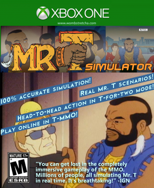 Mr. T Simulator